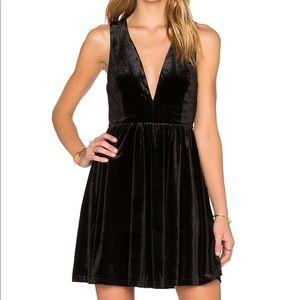 Lucca Velvet Dress XS   Never been worn!!